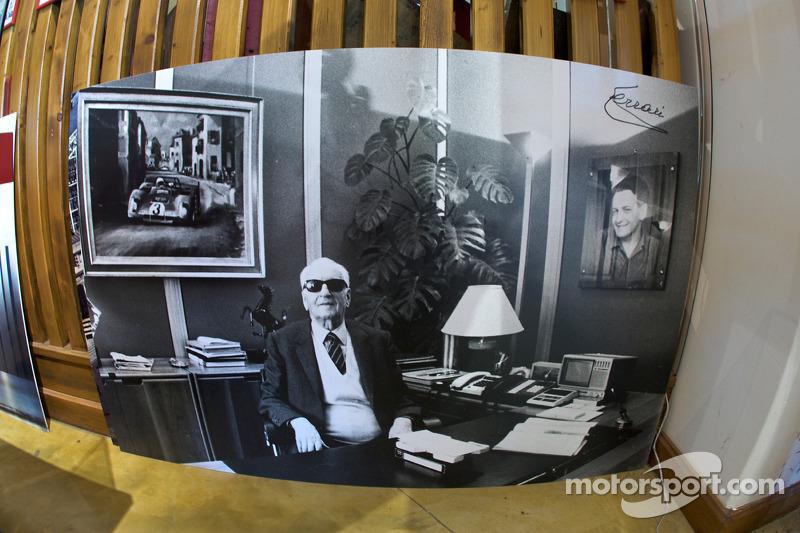 Enzo Ferrari photo