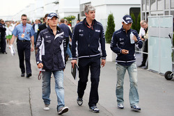 Nico Rosberg, WilliamsF1 Team , Kazuki Nakajima, Williams F1 Team