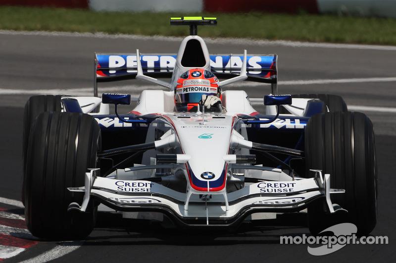 Robert Kubica: GP Kanada 2008 in Montreal
