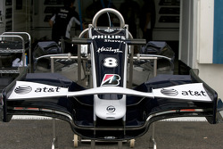 Williams F1 Team front end section
