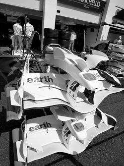 Honda Racing F1 Team bodywork detail