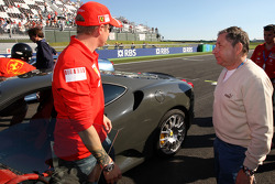 Kimi Raikkonen, Scuderia Ferrari, Jean Todt, Scuderia Ferrari, Ferrari CEO