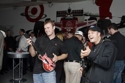 David Gilliland at the Guitar Hero VIP Party
