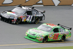 Reed Sorenson and Kyle Busch