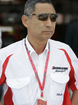Mr Hiroshi Yasukawa, Director Of Bridgestone Motorsport