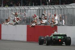 Рубенс Баррікелло, Honda Racing F1 Team