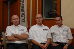 Pre-event press conference: Armin Schwarz, Lars Kern and Carles Celma