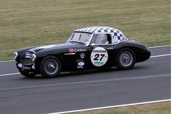 #27 Austin Healey 3000 1961: Fabrice Deschanel, Philippe Liechti