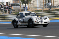 #25 Jaguar Xk 140 1955: Peter Johns, Mark Gibbon