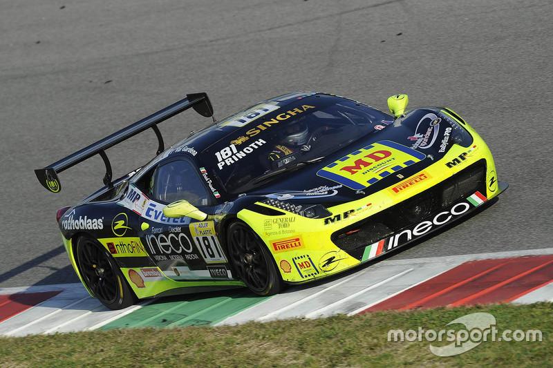#181 Ineco - MP Racing Ferrari 458: Erich Prinoth