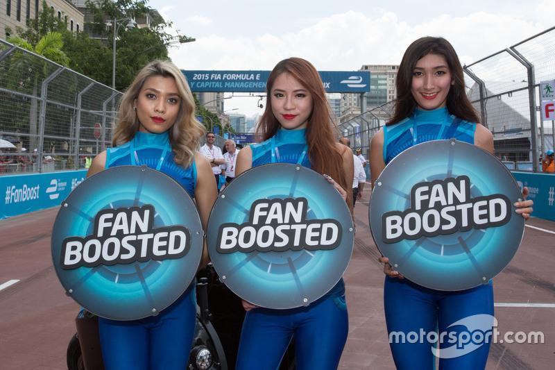 Grid girls na Fórmula E