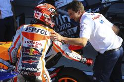 Segundo lugar de la calificación Marc Márquez, Repsol Honda Team