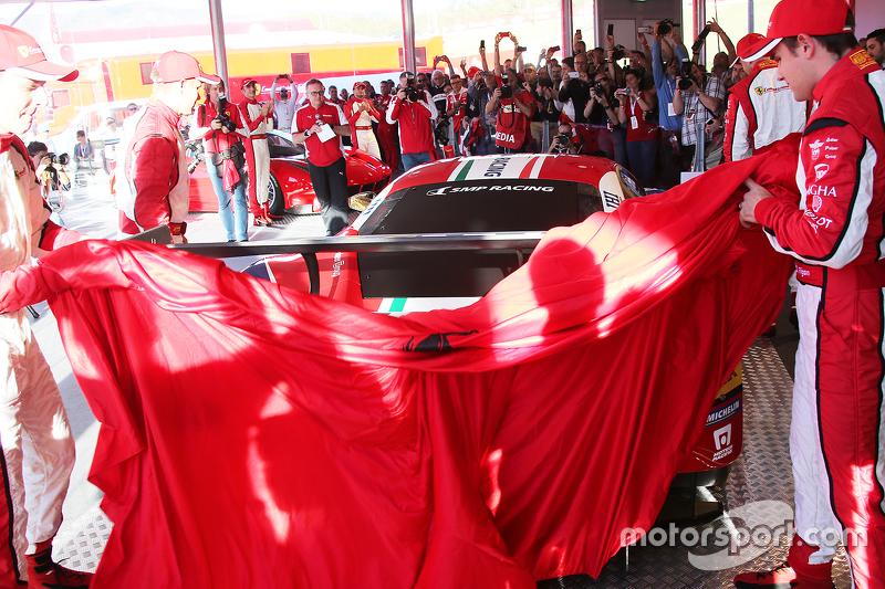Presentatie van de Ferrari 488 GTE en Ferrari 488 GT3