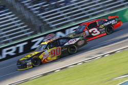 Martin Roy, King Autosport Chevrolet, dan Ty Dillon, Richard Childress Racing Chevrolet