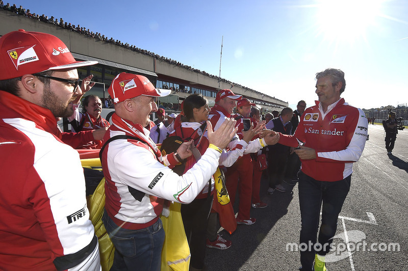 Maurizio Arrivabene, Scuderia Ferrari Takım Patronu ve taraftarlar