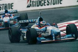 Alexander Wurz y Jean Alesi, Benetton