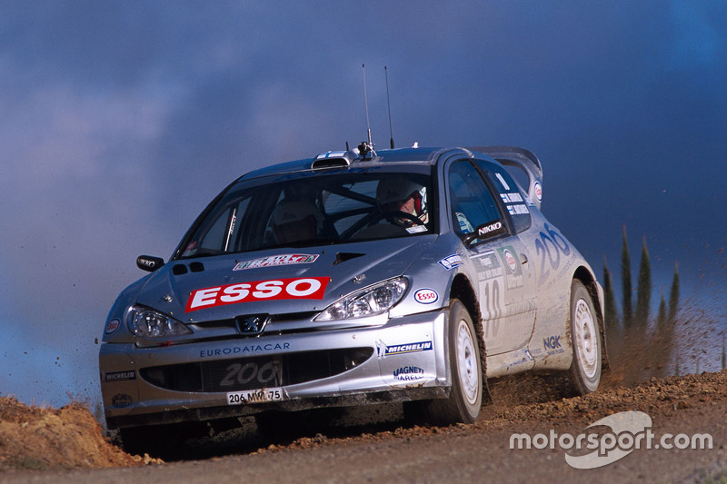 Marcus Gronholm e Timo Rautiainen, Peugeot Sport Peugeot 206 WRC