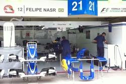 Box de Felipe Nasr