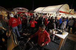 Зона команды Citroën World Rally
