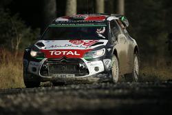 Kris Meeke e Susie Wolff, Citroën DS3 WRC, Citroën World Rally Team