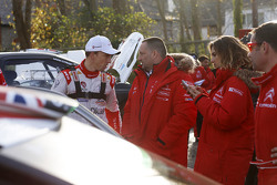 Крис Мик, Citroën World Rally Team и Ив Маттон, руководитель Citroën Racing Team