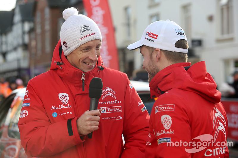 كريس ميك ومادس أوستبرغ ، سيتروين دي إس3 دبليو آر سي، فريق سيتروين العالمي للراليات
