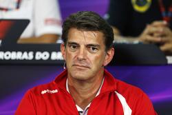 Грэм Лоудон, исполнительный директор Manor Marussia F1 Team на пресс-конференции FIA