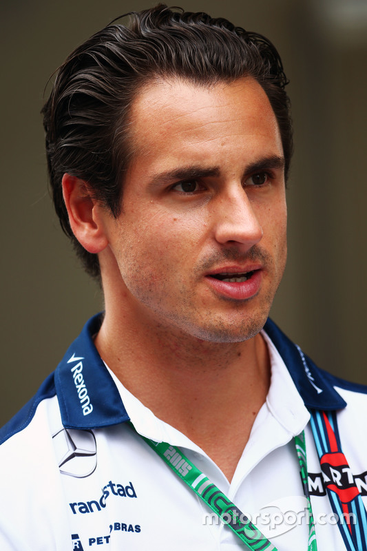 Adrian Sutil Williams Reserve Driver