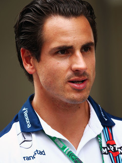 Adrian Sutil, Williams reservecoureur