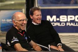 Прощание с Джоном Миллингтоном, менеджером по логистике команды M-Sport