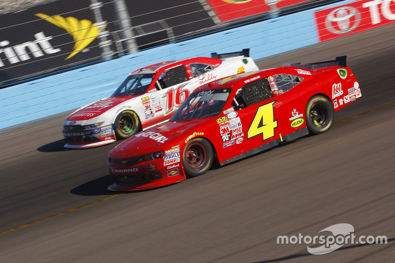 Ross Chastain, JD Motorsports Chevrolet and Ryan Reed, Roush Fenway Racing Ford