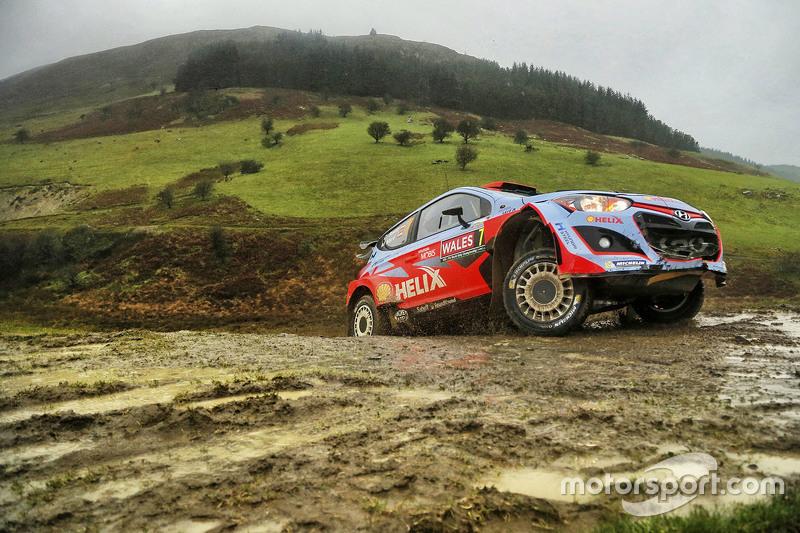 Daniel Sordo en Marc Marti, Hyundai i20 WRC