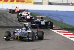 Jimmy Eriksson, Koiranen GP leads Jann Mardenborough, Carlin