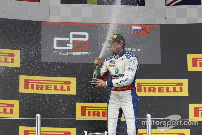 Race 2 Winner Jimmy Eriksson, Koiranen GP