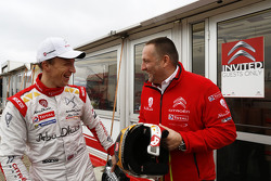 Yves Matton, Citroën Racing Team Principal con Kris Meeke, Citroën World Rally Team