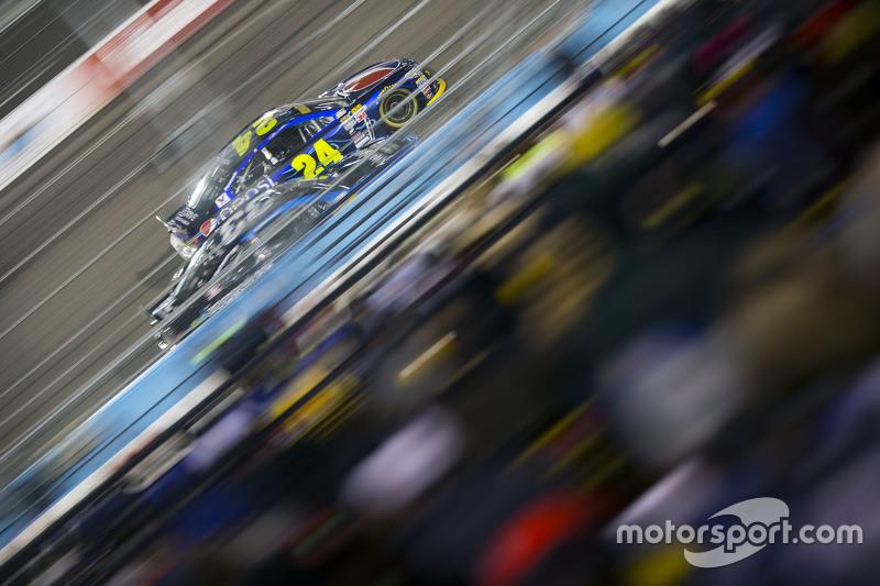 Jeff Gordon, Hendrick Motorsports Chevrolet, und Ryan Ellis