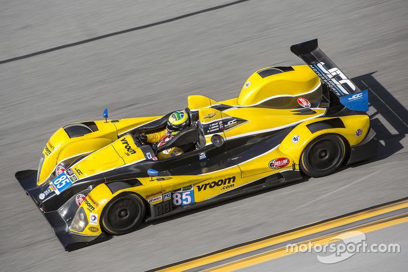 #85 JDC/Miller Motorsports ORECA FLM09: Chris Miller, Міхаіл Гойкберг, Stephen Simpson