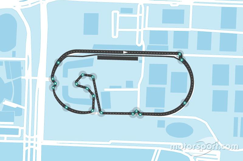 Mexico City Formula E düzeni