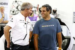 Фриц Энзингер, директор команды Porsche Team LMP1 и Хуан-Пабло Монтойя