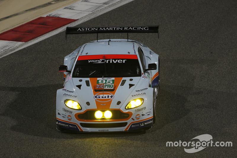 #95 Aston Martin Racing, Aston Martin Vantage GTE: Marco Sorensen, Christoffer Nygaard, Nicki Thiim