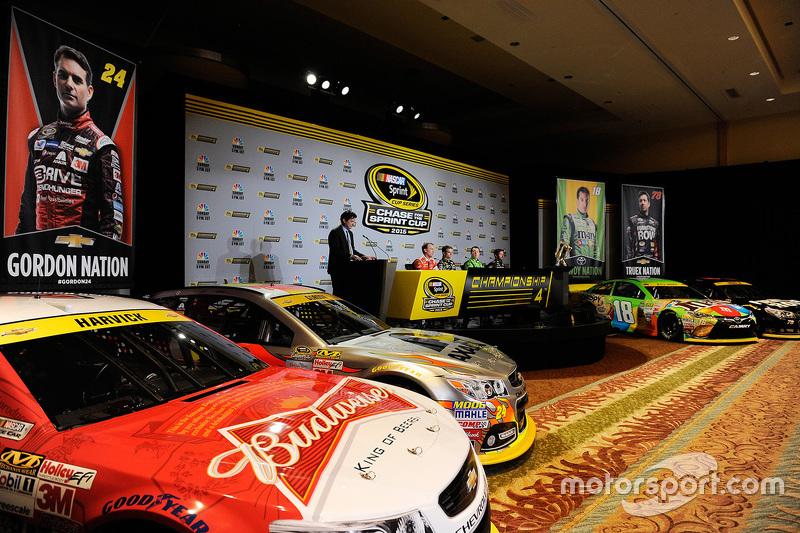 NASCAR Sprint Cup championship день медіа