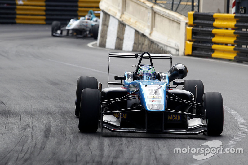 Ryan Tveter, Team West-Tec F3 Dallara Mercedes
