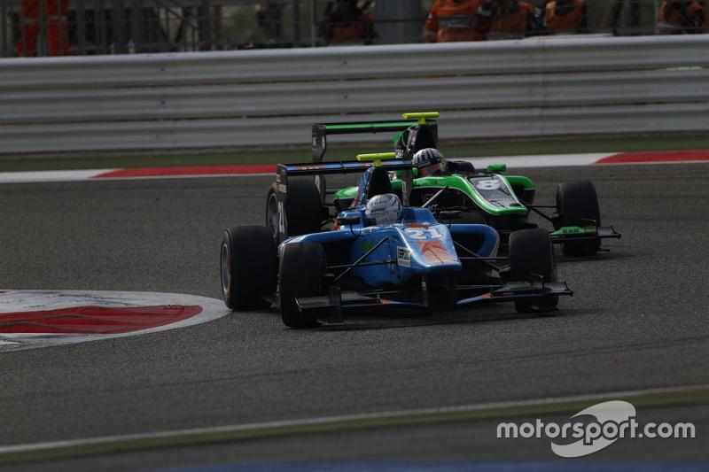 Матео Тушер, Jenzer Motorsport лідирує  Алекс Фонтана, Status Grand Prix