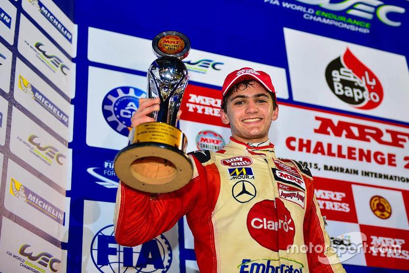 Podium: second place Pietro Fittipaldi