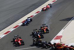 André Negrao, Arden International, Daniel De Jong, Trident and Jordan King, Racing Engineering