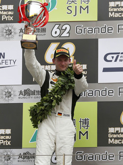 Podium: second Maro Engel, Mercedes AMG Driving Academy
