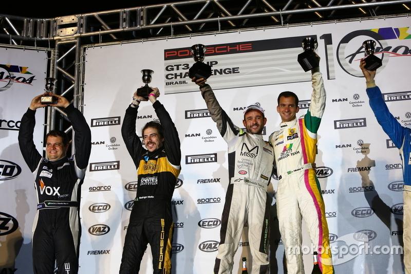 Pódio da Porsche 300 - Challenge