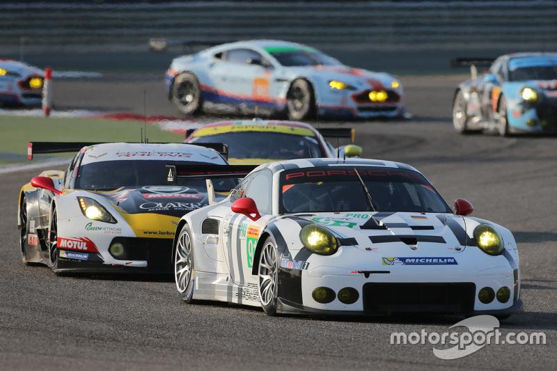 #91 Porsche Team, Manthey Porsche 911 RSR: Richard Lietz, Michael Christensen