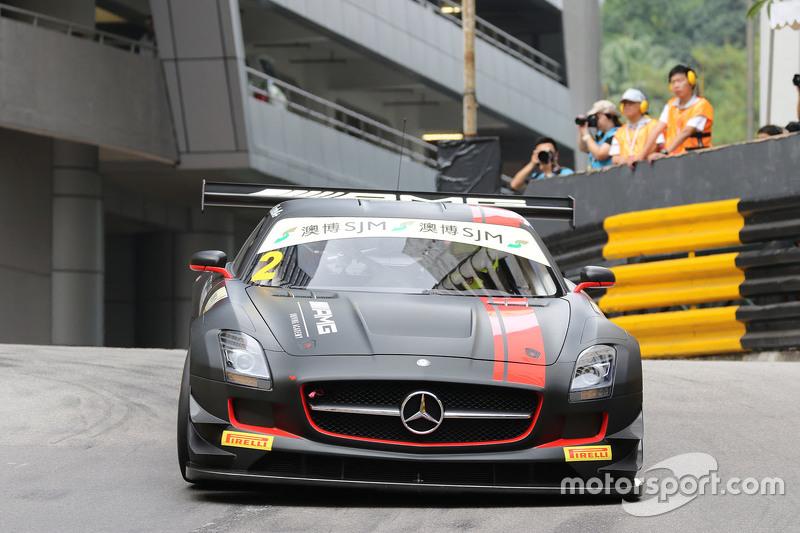 Renger van der Zande,  Mercedes AMG Driving Academy, Mercedes-–Benz SLS AMG GT3