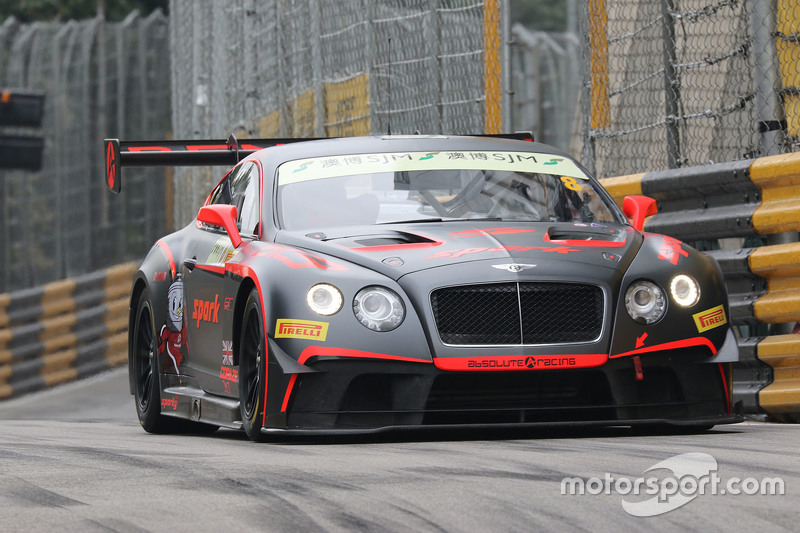 Adderly Fong, Bentley Team Absolute, Bentley Continental GT3